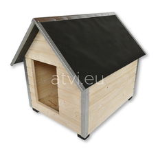 AtviPets Dog House With Sharped Roof Bituminous Cardboard Size 3, image