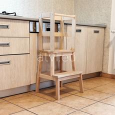 AtviKids Learning Montessori Tower (Add-on + Ikea Bekvam Step Stool), image