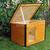 AtviPets Insulated Dog House With Folding Roof Bituminous Cardboard Size 3, image , 14 image