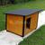 AtviPets Insulated Dog House With Folding Roof Bituminous Cardboard Size 3, image , 16 image