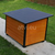 AtviPets Insulated Dog House With Folding Roof Bituminous Cardboard Size 3, image , 17 image