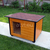 AtviPets Insulated Dog House With Folding Roof Bituminous Shingle Size 3, image , 10 image