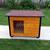 AtviPets Insulated Dog House With Folding Roof Bituminous Shingle Size 3, image , 11 image