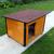 AtviPets Insulated Dog House With Folding Roof Bituminous Shingle Size 3, image , 12 image