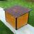 AtviPets Insulated Dog House With Folding Roof Bituminous Shingle Size 3, image , 14 image