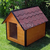 AtviPets Insulated Dog House With Sharped Roof Bituminous Shingle Size 3, image , 7 image