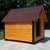 AtviPets Insulated Dog House With Sharped Roof Bituminous Shingle Size 1, image , 10 image