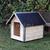 AtviPets Dog House With Sharped Roof Bituminous Cardboard Size 2, image , 7 image