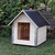 AtviPets Dog House With Sharped Roof Bituminous Cardboard Size 3, image , 8 image