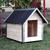 AtviPets Dog House With Sharped Roof Bituminous Cardboard Size 2, image , 10 image