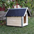 AtviPets Dog House With Sharped Roof Bituminous Cardboard Size 2, image , 12 image