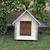 AtviPets Dog House With Sharped Roof Bituminous Shingle Size 1, image , 9 image