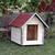 AtviPets Dog House With Sharped Roof Bituminous Shingle Size 1, image , 10 image