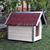AtviPets Dog House With Sharped Roof Bituminous Shingle Size 3, image , 11 image
