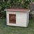 AtviPets Dog House With Folding Roof Bituminous Shingle Size 3, image , 11 image