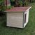 AtviPets Dog House With Folding Roof Bituminous Shingle Size 2, image , 14 image