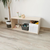 AtviKids Low Toy Shelf   Clear Coat or Transparent   Short Version, image , 5 image