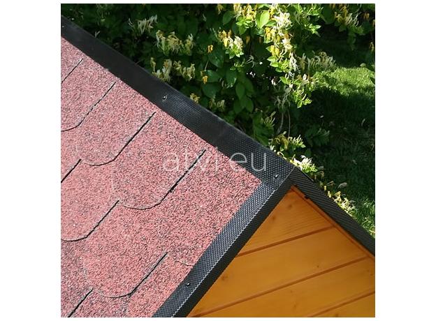 AtviPets Insulated Dog House With Sharped Roof Bituminous Shingle Size 2, image , 11 image