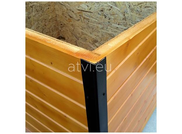 AtviPets Insulated Dog House With Sharped Roof Bituminous Shingle Size 2, image , 13 image