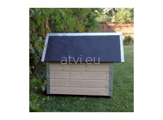 AtviPets Cusca Caine cu Acoperis Ascutit Carton Bituminat Marime 1, imagine _ab__is.image_number.default