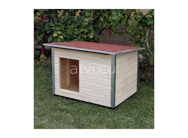 AtviPets Dog House With Folding Roof Bituminous Shingle Size 2, image , 10 image