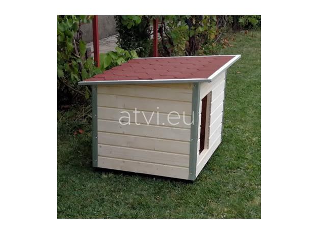 AtviPets Dog House With Folding Roof Bituminous Shingle Size 3, image , 14 image