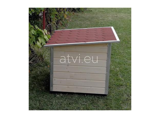 AtviPets Dog House With Folding Roof Bituminous Shingle Size 3, image , 15 image