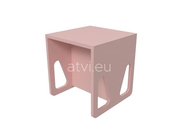 AtviKids Cubix Montessori Chair Size 2 Pink, image
