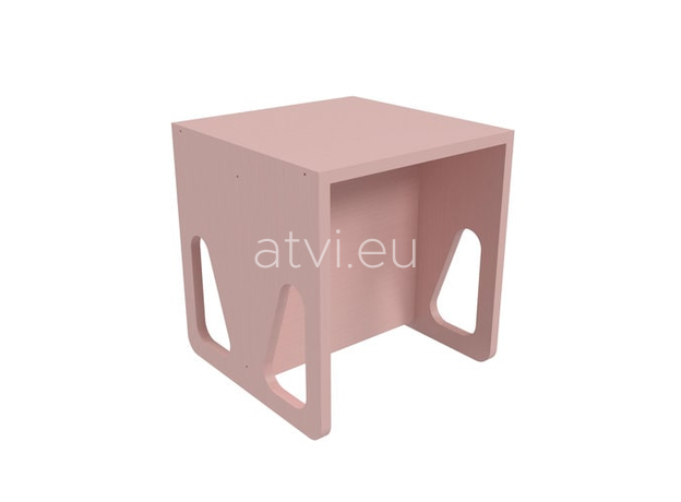 AtviKids Cubix Montessori Chair Size 2 Pink, image , 2 image