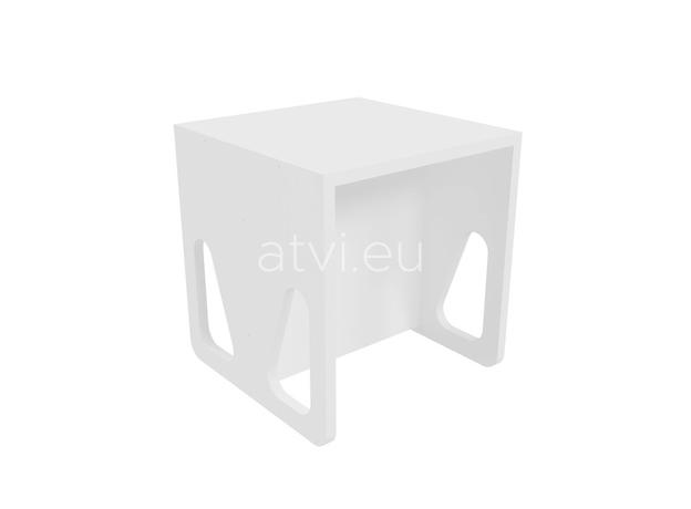 AtviKids Cubix Scaun Montessori Marime 2 Alb, imagine _ab__is.image_number.default