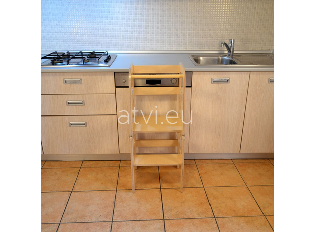 AtviKids Turn de Invatare / Learning Tower Multifunctional (4 in 1) Transparent, imagine _ab__is.image_number.default