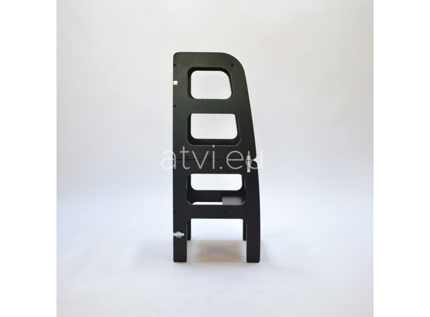 AtviKids Turn de Invatare / Learning Tower Multifunctional (4 in 1) Negru, imagine _ab__is.image_number.default