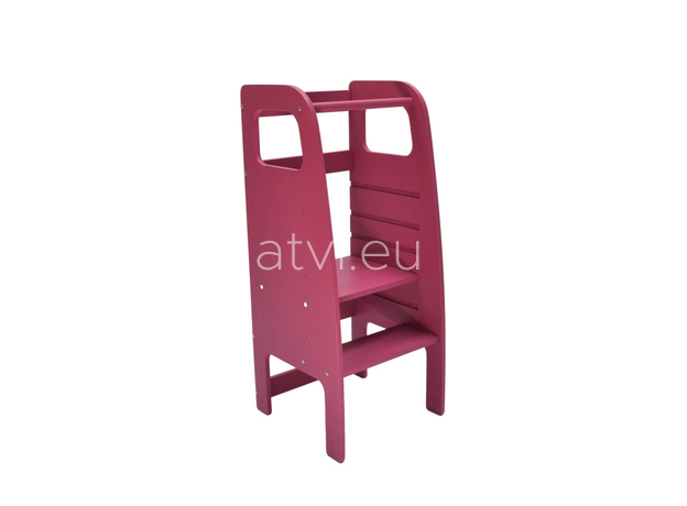 AtviKids Learning Tower Pink, image