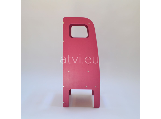 AtviKids Learning Tower Pink, image , 4 image