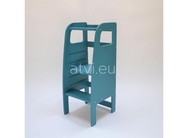 AtviKids Learning Tower Blue, image , 3 image