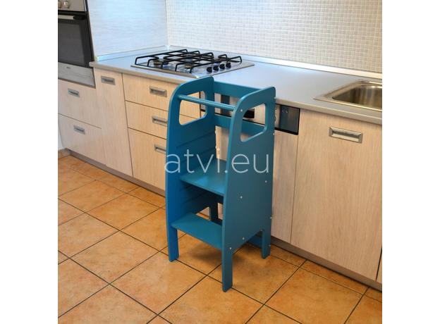 AtviKids Learning Tower Blue, image , 5 image