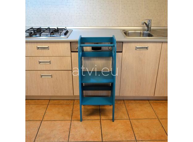 AtviKids Learning Tower Blue, image , 6 image