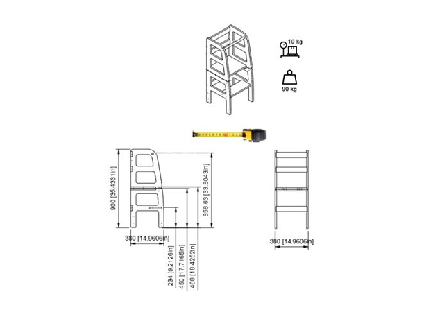 AtviKids Turn de Invatare / Learning Tower Multifunctional (4 in 1) Natur, imagine _ab__is.image_number.default